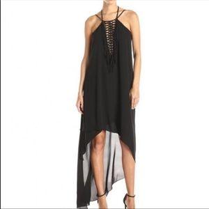 BCBG Danita Asymmetrical Dress Small